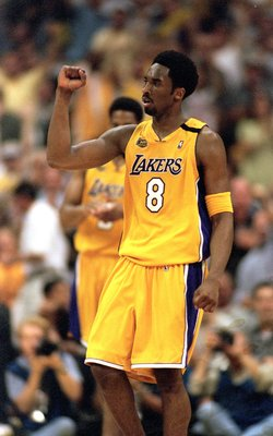 Kobe Bryant in the 2000 NBA Finals.