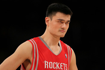 Yao never let his injuries get the best of him.