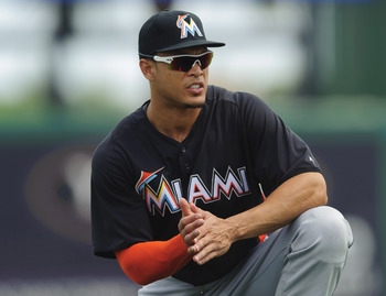 It could be a long year for Giancarlo Stanton in the Miami Marlins lineup without protection.