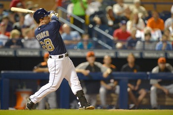 Considering the injuries facing the Padres, rookie Jedd Gyorko will need to come up big in his rookie season.