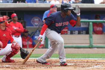 Jackie Bradley Jr. is hitting a torrid .423 this spring for the Boston Red Sox.