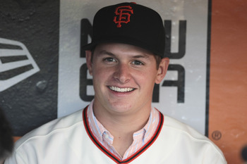Kyle Crick will soon join the likes of Tim Lincecum and Matt Cain as power right-handers the Giants drafted and developed.