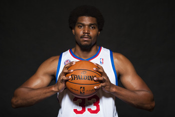 No. 33 may never suit up for the 76ers due to his constant knee problems.