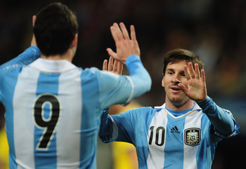 Despite having Lionel Messi, Argentina cannot get it together.
