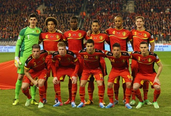 Belgium could a surprise team next summer.