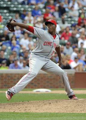 Reds Closer Aroldis Chapman