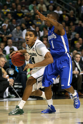 Gary Harris is becoming more important to MSU each round.