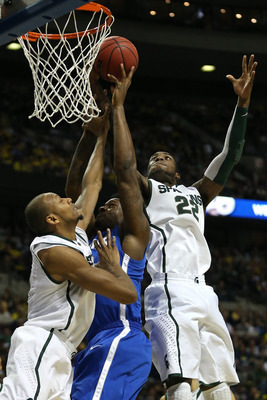 Branden Dawson (right) still hasn't emerged in March. He can. But will he?