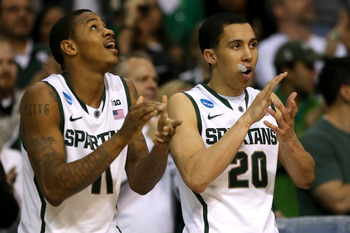 Michigan State's Keith Appling (left) and Travis Trice are great defenders.