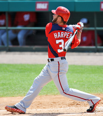 Bryce Harper's bat has been answering the clown questions for him this spring.