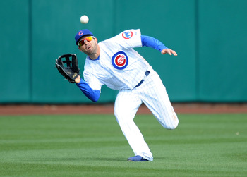 David DeJesus has been great at the plate and in the field for the Cubs this spring.