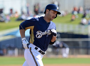 Ryan Braun has barely played for the Brew Crew this spring.