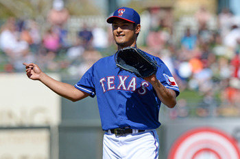 Yu Darvish seems to be getting better. That's a scary proposition.