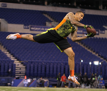 Kenny Vaccaro had an impressive showing at the NFL combine, posting a 4.63 40-yard dash and a 4.06 second 20-yard shuttle time.