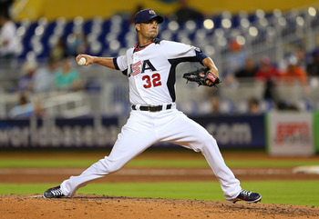 Ryan Vogelsong was ready early, as he pitched in the World Baseball Classic.