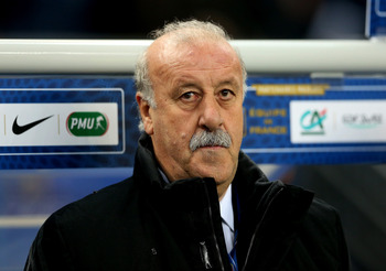 Del Bosque faces a challenge should his side now make it to Brazil