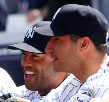 Rivera and Pettitte are just two of seven Yankees on the 40-man roster aged 35 or higher