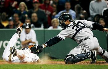 Jacoby Ellsbury embarrassed the New York Yankees in April 2009. Townson/AP Photo