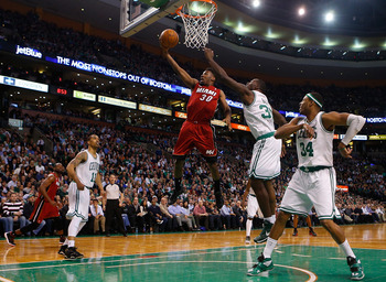 Miami beat Boston 105-103 on March 18 during this historic streak.