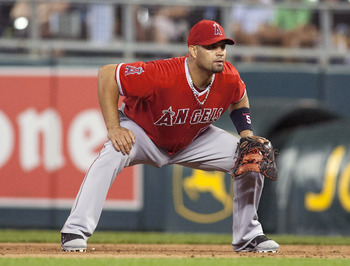 Albert Pujols, even in a down year, hit 30 home runs and slugged .516 in 2012.