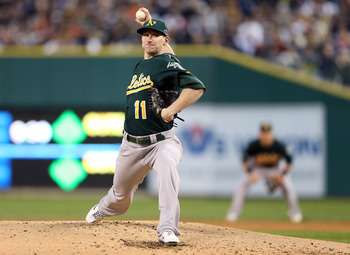 Jarrod Parker will lead Oakland's young rotation after a breakout rookie season.