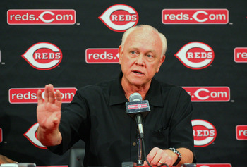Cincinnati Reds GM Walt Jocketty has done an oustanding job in keeping his team at the top of the standings despite limited resources.