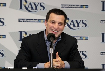 Rays GM Andrew Friedman has developed a farm system that keeps Tampa Bay in contention each year despite its dismal financial footing.