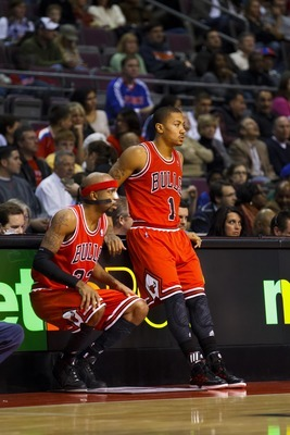 There is no timetable for the return of Derrick Rose or Richard Hamilton.