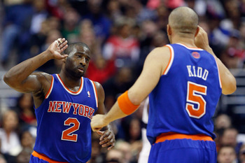 The Knicks move the ball well when Kidd and Felton share the backcourt.