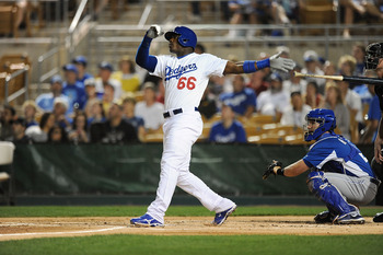 Los Angeles Dodgers prospect Yasiel Puig served notice this spring that he's nearly ready.