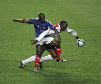 Makelele's position on the field still bears his name when spoken about in France