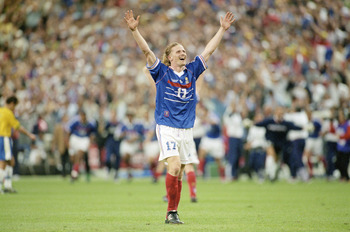 Petit's third v Brazil helped France to secure the 1998 World Cup on home soil