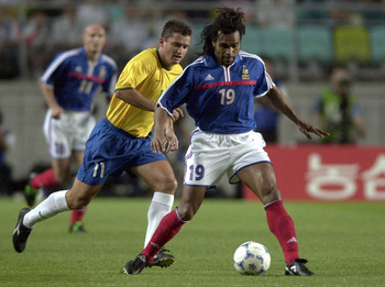 Karembeu was an iconic figure for France, more so for his appearance than his play, though
