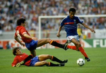 Tigana's role for France in 1980s paved the way for the emergence of Vieira's role in the 1990s
