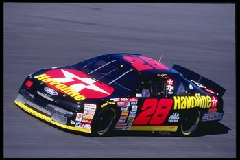 Jarrett filled in for an injured Ernie Irvan following Irvan's 1994 testing accident.