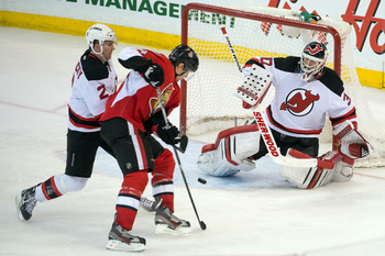 Brodeur was not as sharp against Ottawa.