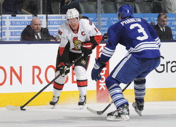 Another weekend, another installment in the Battle of Ontario between the Senators and Maple Leafs.