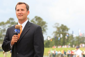 Steve Sands has turned into a very good multi-tasker for the Golf Channel.