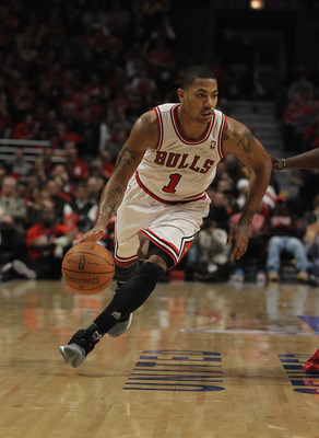 Chicago fans have embraced their native son, Derrick Rose.