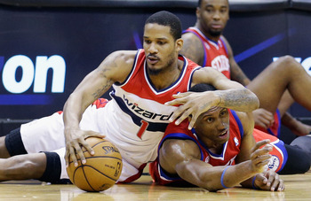 Small forward Trevor Ariza will be in the last year of his deal in the 2013-2014 season.