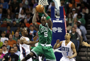 Kevin Garnett has a no-trade clause in his contract.
