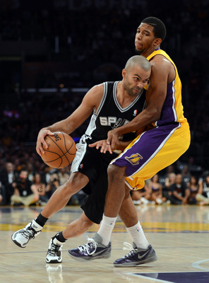 There's no love lost between the Spurs and Lakers.