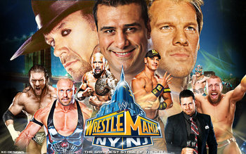 Will this WrestleMania top last year's? Photo by: Deviantart.com