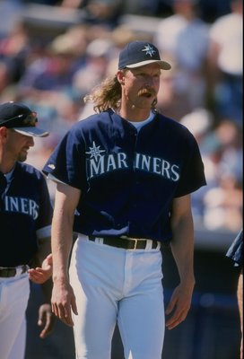 Mariners' ace Randy Johnson.