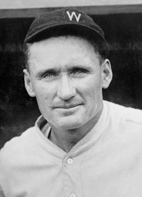 Senators' ace Walter Johnson. (Wikimedia Commons)