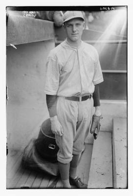 Philadelphia Athletics ace Eddie Rommel. (George Grantham Bain Collection, United States Library of Congress)