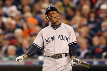 Curtis Granderson will play out his contract year in the Bronx.