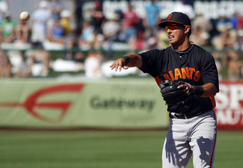 The Giants acquired Marco Scutaro via trade last July.