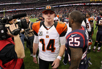 Andy Dalton is 0-2 so far in playoff appearances.