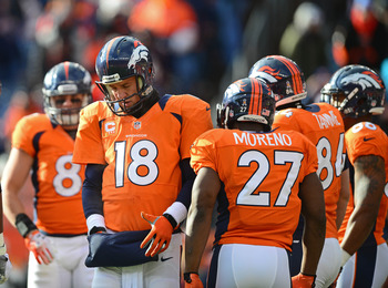 Peyton Manning is hoping for better results in 2013 playoffs.